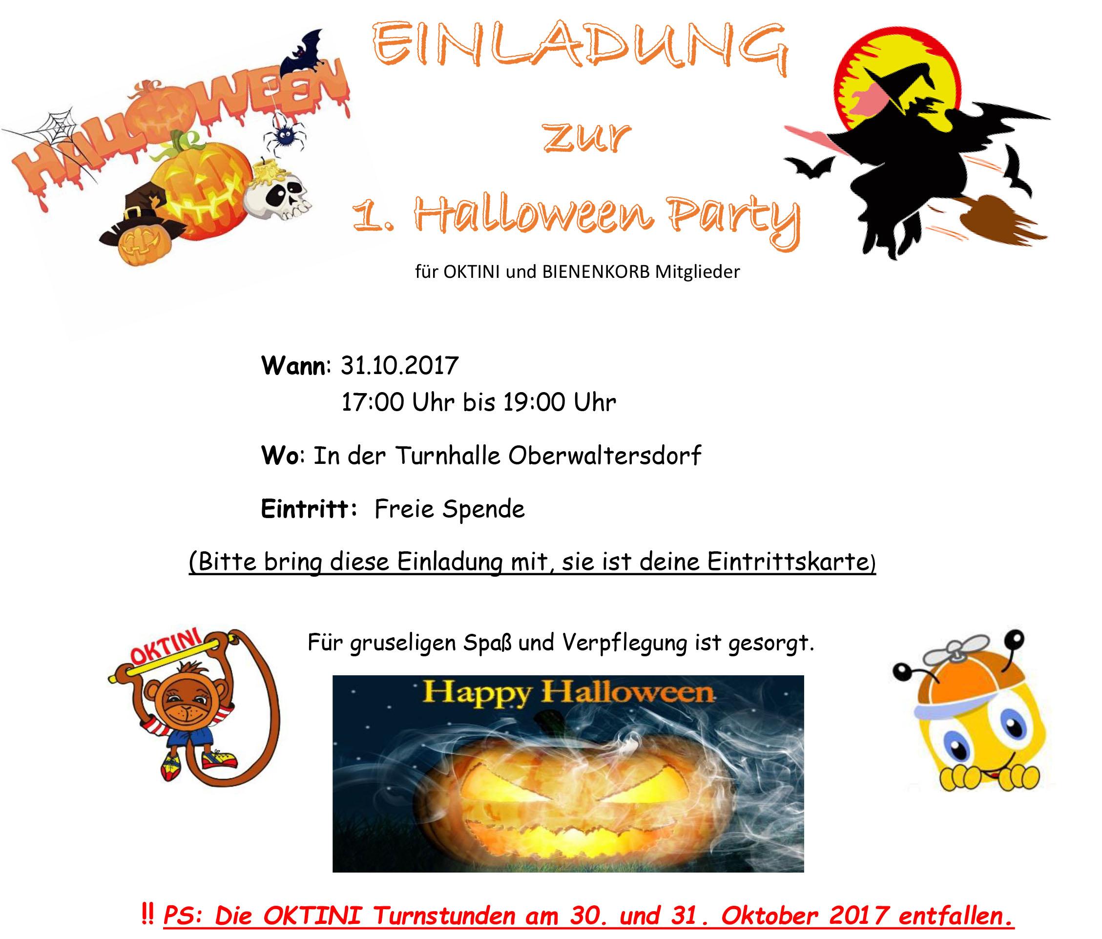 halloween party 2017  oktini